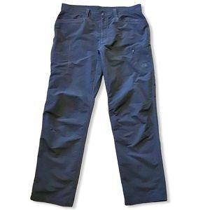 NORTH FACE   Men's 100% Nylon Gray Pants 38x33.5